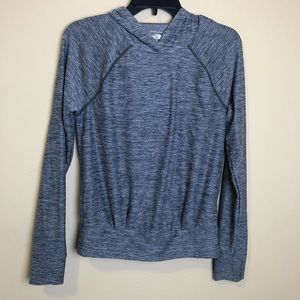 The North Face gray pullover top XS flashdry